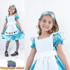 FAIRYTALE ALICE IN WONDERLAND BOOK WEEK - Age 3-10 Girls - Fancy Dress Costume