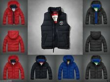ABERCROMBIE KIDS BOYS jacket Vest SIZE M L NWT RED gray Navy HOODIE zip NEW