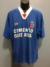 cruz azul jersey azul sport 1995 vintage retro used authentic CARLOS HERMOSILLO