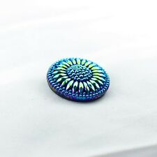 EXCLUSIVE Glass Hand-Decorated Buttons (Czech Made)