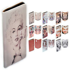 For Lumia 950XL 950 650 640 - Marilyn Monroe Print Flip Wallet Phone Case Cover