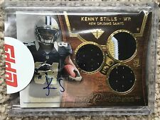 2013 TOPPS TRIPLE THREAT GOLD SEALED  AUTO ROOKIE CARD- KENNY STILLS- 85 OF 99