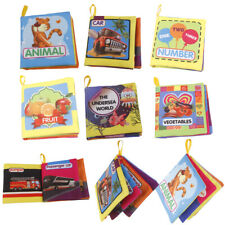 INFANT BABY TODDLER CLOTH BOOK INTELLIGENCE DEVELOPMENT COGNIZE EDUCATIONAL TOY