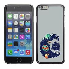Hard Phone Case Cover Skin For Apple iPhone Universe wave covers shi