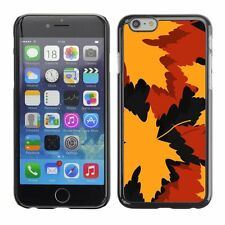 Hard Phone Case Cover Skin For Apple iPhone Autumn leaves background