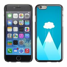 Hard Phone Case Cover Skin For Apple iPhone one cloud over mountain