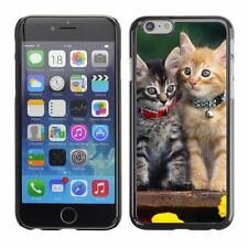 Hard Phone Case Cover Skin For Apple iPhone Charming kittens with co