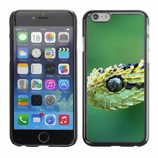 Hard Phone Case Cover Skin For Apple iPhone Small green viper with s