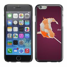 Hard Phone Case Cover Skin For Apple iPhone Narwal fish in orange