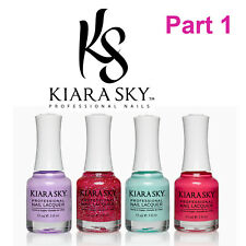 Kiara Sky Nail Lacquer Polish Part 1 Collection Choose One Color