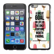 Hard Phone Case Cover Skin For Apple iPhone 79 goal Kennedy drawing ice-cream