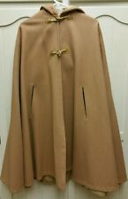 Vintage Womens Cape with Hood Camel Colored Size XL-XXl ?