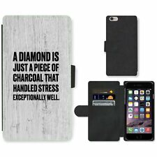 Phone Card Slot PU Leather Wallet Case For Apple iPhone 132 diamond charcoal woo