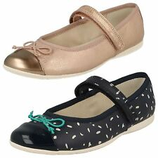 Infant Girls Clarks Ballet Style Shoes Dance Mad