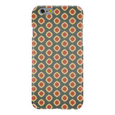 Grey Red Dots Pattern Ultra Slim Hard Case for iPhone 6 6S 7 Plus