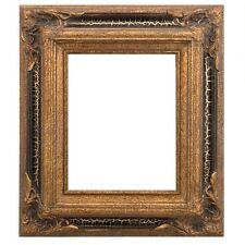 "Eli Frames Upscale Museum Gallery Picture Frame Wood Gold Leaf 3.5"" Wide NEW"