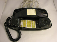 Vintage Southwestern Bell Black Classic Push Button Lighted Line Freedom Phone