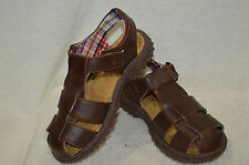 Buster Brown Toddler Boy's Lil Max  Brown Sandals -  Size 9
