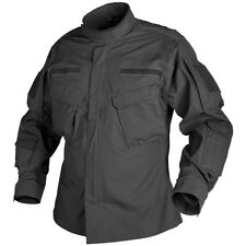 HELIKON TACTICAL ARMY JACKET CPU COMBAT MENS SHIRT AIRSOFT SECURITY POLICE BLACK