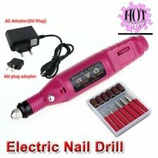 Electric Nail Drill Bits 6 File Tool Machine Acrylic Art Manicure Pen Shaper MLC