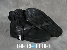BRAND NEW Mens VLADO High Top Shoes Sneakers ATLAS 2 II Black on Black *FRESH*