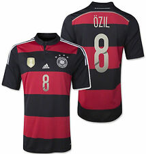 ADIDAS MESUT OZIL GERMANY 4 STAR AWAY JERSEY FIFA WORLD CUP 2014 CHAMPIONS.