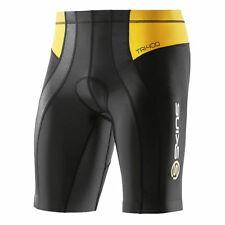 Skins TRI400 Mens Compression Shorts ( Black / Yellow )