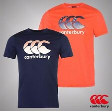 Mens Branded Canterbury Training CCC Logo Rugby Training T Shirt Top Size S-XXL