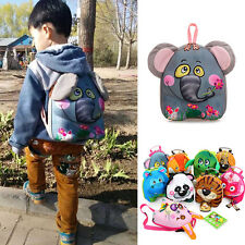 Cute 3D Animal Children Toddler Kids Kindergarten Backpack School Bag
