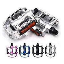 Popular 1Pair Bike Bicycle Pedals with Reflectors Universal Mountain Road Bike