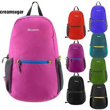 Unisex Foldable Outdoor Camp Hiking Travel Backpack Casual Lightweight Bag CESU