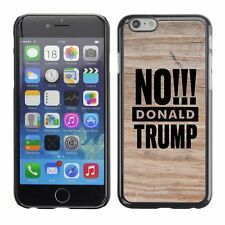 Hard Phone Case Cover Skin For Apple iPhone 182 BAN Donald Trump wood dry