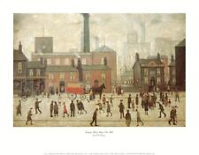 Coming Home from the Mill Art Print by Lowry, Laurence Stephen