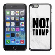 Hard Phone Case Cover Skin For Apple iPhone 240 BAN Trump white marble