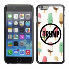 Hard Phone Case Cover Skin For Apple iPhone 79 never trump drawing ice-cream