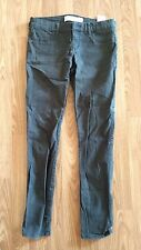 "Abercrombie & Fitch Pants Womens 2 26"" Charcoal / Black"