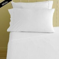 WHITE 1000TC EGYPTIAN COTTON BEDDING ITEM SHEET/DUVETS/FITTED ALL SIZES