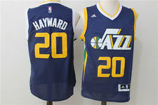 NEW Utah Jazz #20 Gordon Hayward Swingman Basketball Jersey Dark Blue