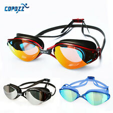 COPOZZ Pro Swim Goggles Anti Fog Swim glasses Goggles Sealed Competition Racing