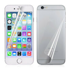 3X Front/Back Clear Film HD LCD Screen Protector Foil For iphone 7 6s Plus 5S SE