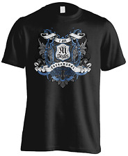 WWE - AJ Styles Badge - American Wrestlers Official - UCL BL T-shirt DTG Print