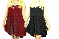 Ladies Sparkly strappy swing dress / long top