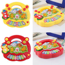 Baby Kids Musical Educational Animal Farm Piano Developmental Music Toy Gift HY