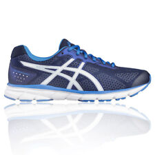 Asics Gel Impression 9 Mens Blue Cushioned Running Sports Shoes Trainers