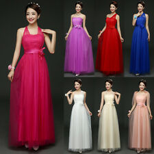 Formal Women Convertible Multi Way Wrap Evening Party Bridesmaid Maxi Long Dress
