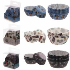 72 Cup Cake Cases - Cupcake Muffin Fairy Baking Cooking Paper Case