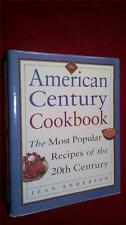 American Century Cookbook Jean Anderson Most Popular Recipes of the 20th Century