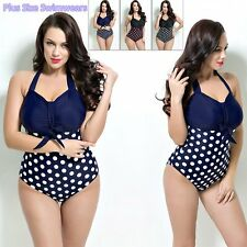New Beach Swimsuit Women Dot Swimwear Bathing Suit Triangle Bikini Vintage SY