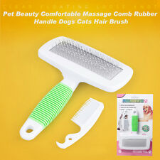 Magic Pet Dog Puppy Animal Clean Brush Hair Fur Grooming Massager Care Comb SY