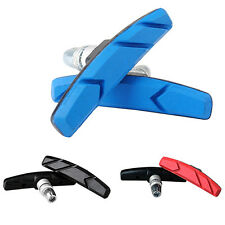 1 PAIR MOUNTAIN BICYCLE CYCLING BIKE RUBBER V BRAKE HOLDER PADS BLOCKS HONEST
